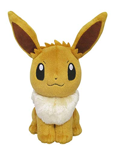 Sanei Pokemon All Star Series Eevee Stuffed Plush, 8'
