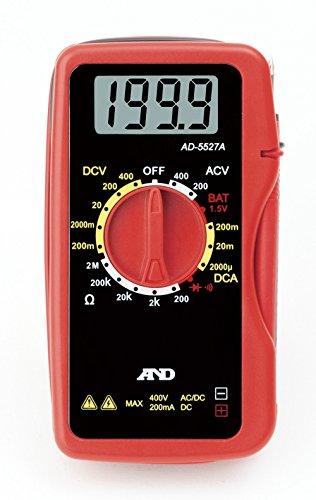 A&D デジタルマルチメーター AD-5527A