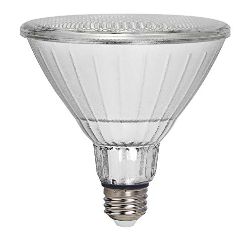 Geeni GN-BW912-999 LUX Smart Floodlight, White – Outdoor 2700K-6500K Dimmable LED Bulb, E26, PAR38, 11W, 1000 Lumens – No Hub Works with Amazon Alexa, Google Assistant, Requires 2.4 GHz Wi-Fi