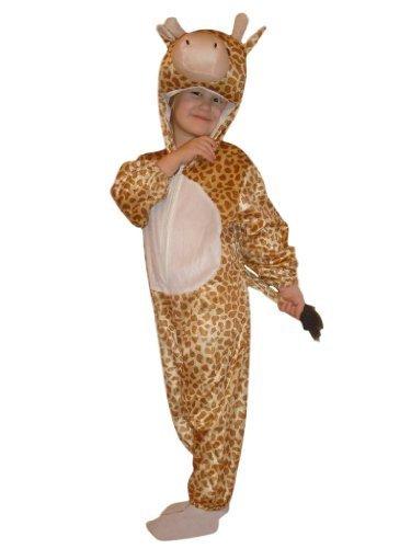 Giraffen-Kostüm, J24/00 Gr. 122-128, für Kinder, Giraffen-Kostüme Giraffe für Fasching Karneval, Klein-Kinder Karnevalskostüme, Kinder-Faschingskostüme, Geburtstags-Geschenk Weihnachts-Geschenk