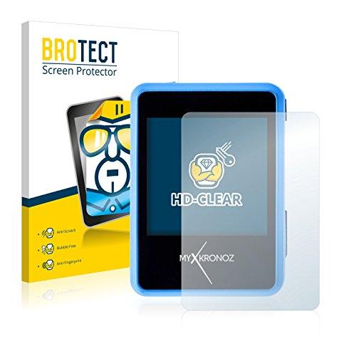 BROTECT Schutzfolie kompatibel mit MyKronoz ZeNano (2 Stück) klare Bildschirmschutz-Folie