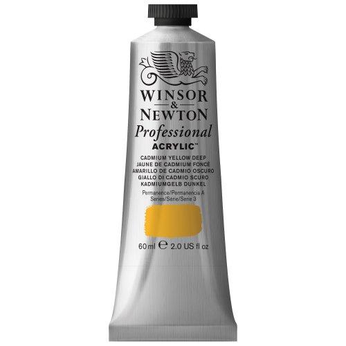 Winsor & Newton - Tubo de acuarela de 60 ml, amarillo