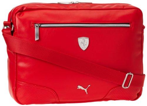 PUMA Herren Ferrari Long Sleeve Reporter, Rot - rot - Größe: One Size