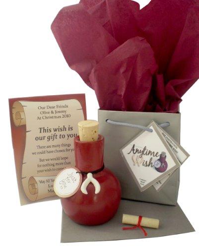 Jemsideas Geschenk und Karte zum 35. Hochzeitstag/zur Korallenhochzeit, personalisierbar, Aufschrift
