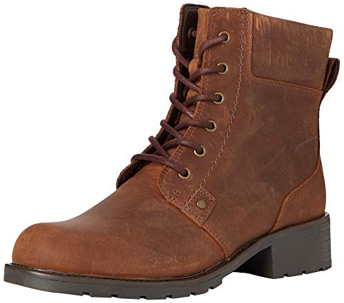 Clarks Damen Orinoco Spice Kurzschaft Stiefel, Braun (Brown Snuff), 40 EU