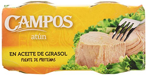 Campos, Conserva de atún en aceite de girasol - pack de 2...