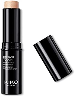 KIKO MILANO - Radiant Touch Creamy Stick Highlighter Makeup Strobing Technique Illuminator | Color Gold | Cruelty Free | Hypoallergenic | Made in Italy