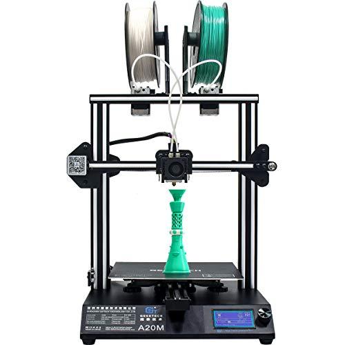 GIANTARM geeetech A20M imprimante 3D avec Grande Taille d'impression 255 * 255 * 255 mm³ Haute Precision Reprise d'impression Prusa I3 DIY Kit