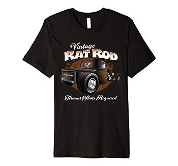 Vintage Rat Rod Pickup Truck Hot Rod T-Shirt