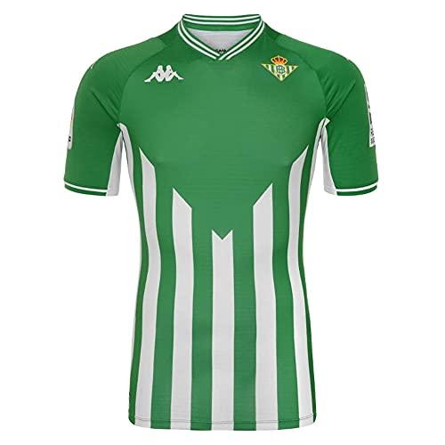 Kappa - Camiseta de fútbol oficial Kombat para casa del Real Bétis, verde, XL