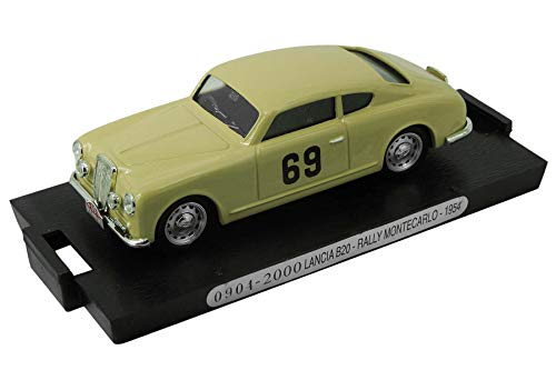 Altaya by Ixo Modelo de Coche en Miniatura Tipo para Lancia B20 - Rally Monte-Carlo 1954 (1:43) - Amarillo
