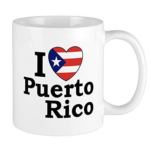 CafePress I Love Puerto Rico Mug Unique Coffee Mug, Coffee Cup