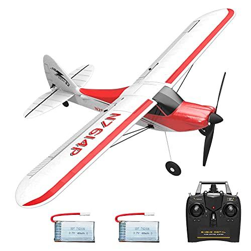 VOLANTEXRC RC Airplane 2.4Ghz 4-CH with Aileron Sport Cub 500 Parkflyer Remote Control