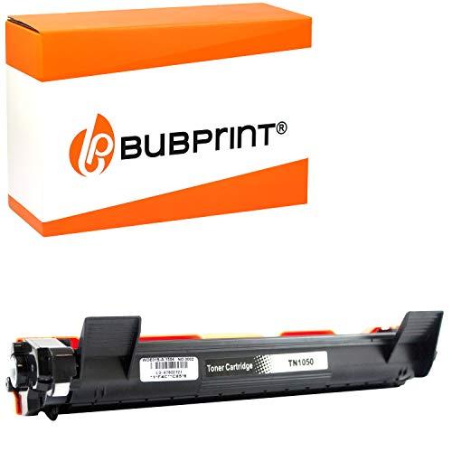 Bubprint 2000 Seiten Toner kompatibel für Brother TN-1050 für DCP-1510 DCP-1510E DCP-1512 DCP-1512E DCP-1610W DCP-1612W HL-1110 HL-1110E HL-1112 HL-1210W HL-1211W HL-1212W MFC-1810 MFC-1910W Schwarz