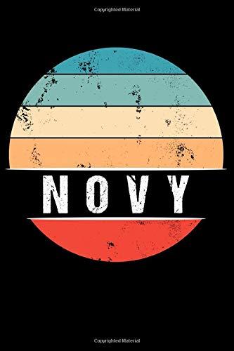 NOVY: 100 Pages 6 'x 9' | Dot Graph Paper Journal Manuscript • Planner • Scratchbook • Diary