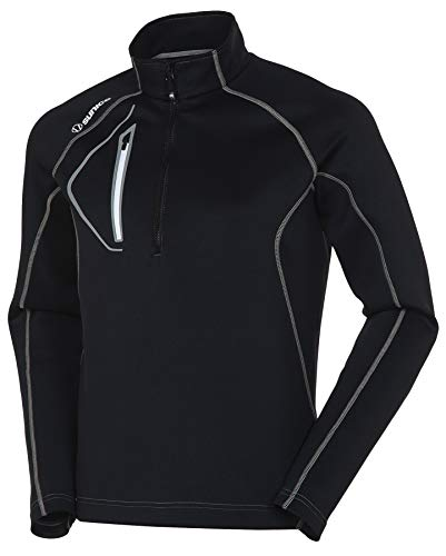 Sunice Allendale Men's Half Zip Performance Pullover with Thermal Protection