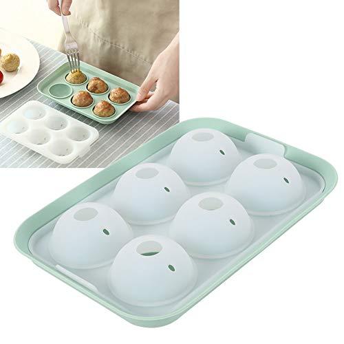 Molde de grado alimenticio, albóndigas redondas adoptan el espejo de grado alimenticio reflexión Gadgets de cocina hechos de silicona