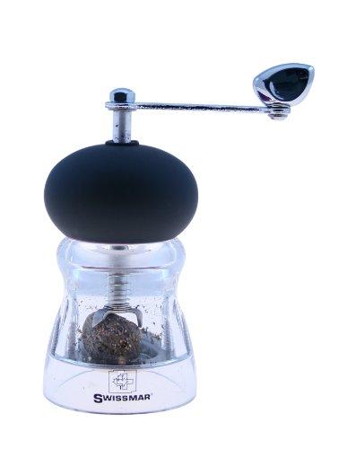 Swissmar 4-Inch Nutmeg Grinder, Black