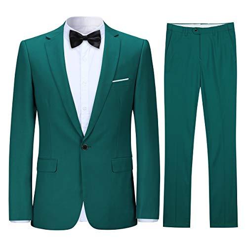 Allthemen Allthemen Anzug Herren Anzug Slim Fit Herrenanzug Anzüge Anzug Hochzeit Business