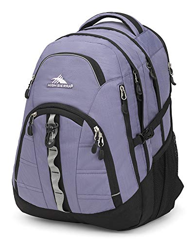 High Sierra Access II Laptop Backpack, Purple Smoke/Black, One Size