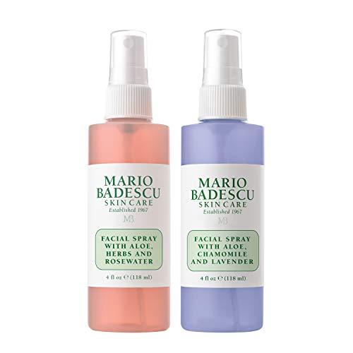 Mario Badescu Facial Spray Rosewater, Lavender Duo