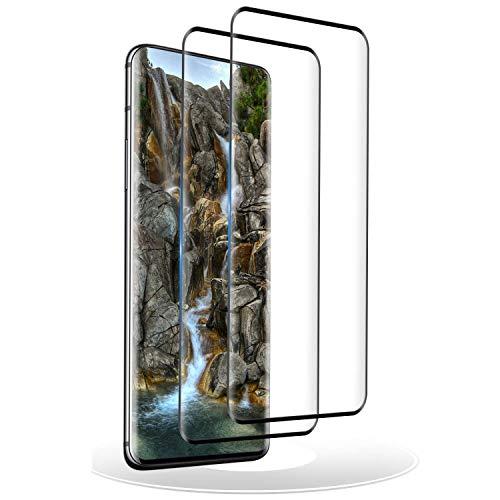 RIIMUHIR Verre Trempé pour Oneplus 7 Pro,[3D Couverture Complète] Film Protection écran Vitre Protecteur pour Oneplus 7 Pro - 2 Pièces