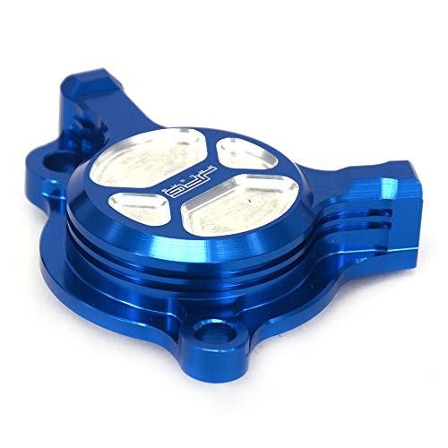 Bouchon de filtre à huile pour moto Yamaha YZ250F 2003-13 WR250F 2003-14 YZ450F 2003-09 WR450F 2003-15 Bleu