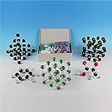 426 pcs/set suministros de laboratorio enseñanza de la química se pueden combinar con los modelos estructurales moleculares orgánicos e inorgánicos