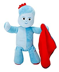 Based on Igglepiggle from the popular Children's TV Show In the Night Garden Squeeze his tummy to hear 7 great Igglepiggle sounds and phrases including Igglepiggle's favourite song! Made in soft, huggable fabrics. Igglepiggle carries his iconic red b...