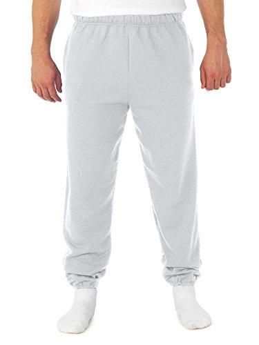 Jerzees Super Sweats 4850MP Sweat-shirt à poches Blanc Taille L
