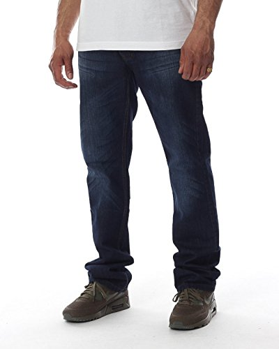 roca wear Stay True Injection Leather Patch Relaxed FIT mid Blue