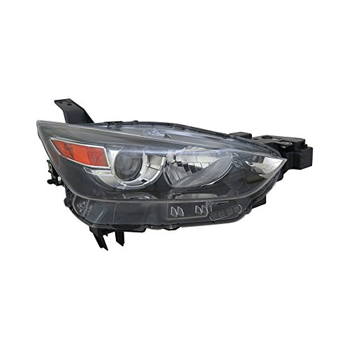 Rareelectrical NEW RIGHT HEADLIGHT COMPATIBLE WITH MAZDA CX-3 2016-2017 DB4N-51-0K0 DB4N510K0 MA2519173