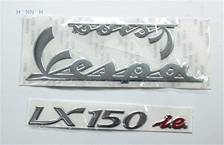 Fincos 5pcs lot 3D Vespa Sticker Motorcycle 3D Sticker car Bike Sticker 3D LX150 Vespa Sticker