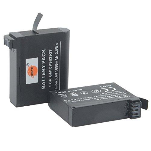 DSTE 2pcs Recargable Batería Compatible para Garmin VIRB Ultra 30 Acción Cámara como 010-01529-03 010-12389-15
