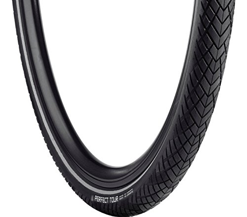 Vredestein Perfect Tour Maximum Protection, Pneumatici da Bicicletta. Unisex-Adulto, Nero, 32-622/28x1.5/8x1.1/4