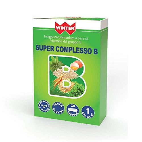 Winter - Super Complesso B - Integratore alimentare con vitamine del gruppo B - 30 capsule
