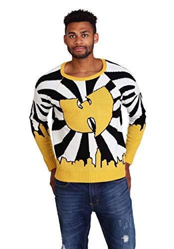 Wu-Tang Clan Logo Ugly Christmas Sweater - XL Yellow