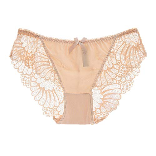 N\P Ropa interior sexy sin costuras para mujer, transpirable, ropa interior de encaje suave