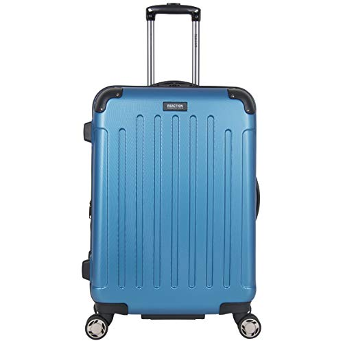 "Kenneth Cole Reaction Renegade 24"" Lightweight Hardside Expandable 8-Wheel Spinner Checked-Size Luggage, Vivid Blue"