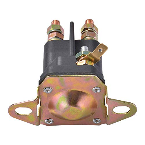 3-Poliges 12V Anlasserrelais/Anlassermotor für MTD, Cub Cadet, etc. Kompatibel mit 924285 Murray (33-331)
