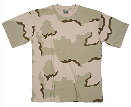 Mil-Tec US Army T-Shirt Camouflage léger (3 Couleurs Desert/XXL)