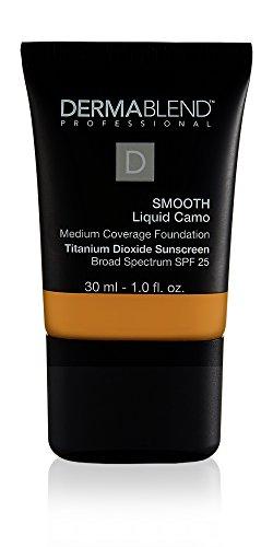 Dermablend Smooth Liquid Foundation with SPF 25, 45W Honey, 1 Fl. Oz.