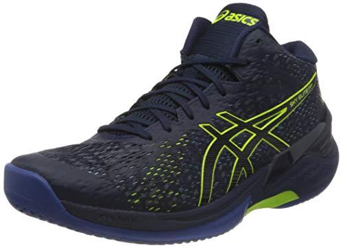 ASICS 1051A032-402_42, Zapatillas de Voleibol Hombre, Azul Marino, EU