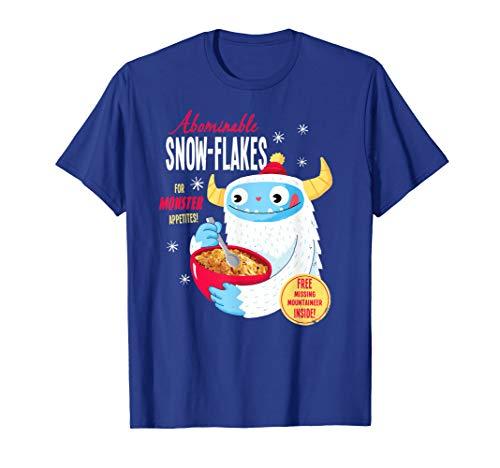 Shirt.Woot: Abominable Snowflakes T-Shirt