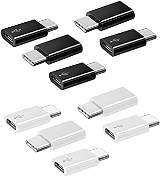 10-Pack Ahgeng USB-C-to-Micro USB Adapter