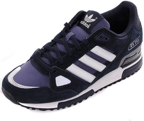 Adidas Herren Echt Originals zx 750 Laufschuhe silber