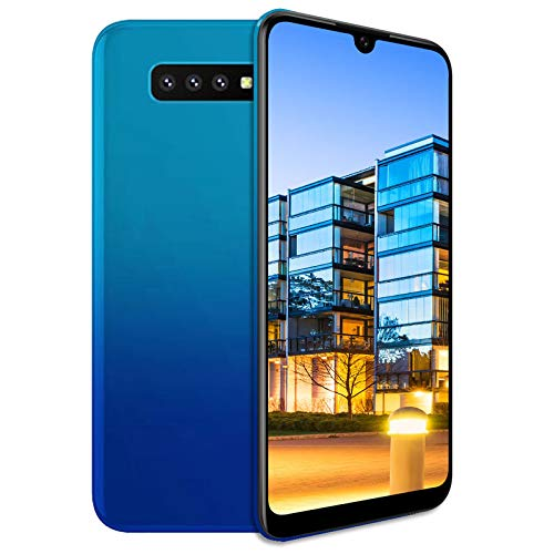 Unlocked Cell Phones, s10pro 3G (WCDMA:850/2100) Android Smartphone, 6.26inch IPS Full-Screen, 3G Dual SIM,2GB RAM 16GB ROM, Android 7.0 MTK6580 Quad Core,3800mAh(Apply to T-Mobile) Blue