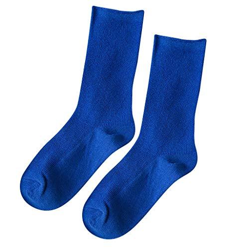 ZZBO Sportsocken Damen Strümpfe Crew Socken Mid Socken Baumwolle Socken Freizeitsocken Süße Damensocken Flexibel und Bequem Soxs In Multi Farbe