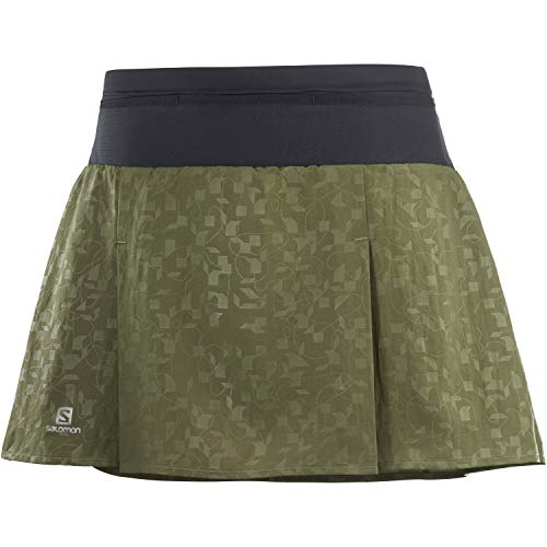 SALOMON XA Skort Falda Pantalones Cortos Mujer Trail Running Sanderismo