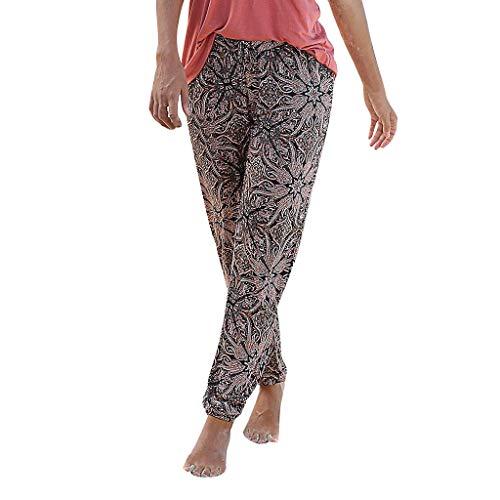Unisex Leggings Mujer Fitness Anchos Mujeres Hippie Pantalon de Yoga de Linterna de Cintura Hombres y Mujeres 2019 Pantalones Cortos Mujer Verano Grandes Hombres Sueltos Hippy Yoga Baggy Boho Aladdin